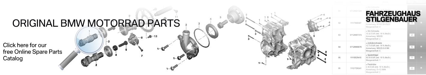 BMW Motorrad free Genuine Spare Parts Catalog
