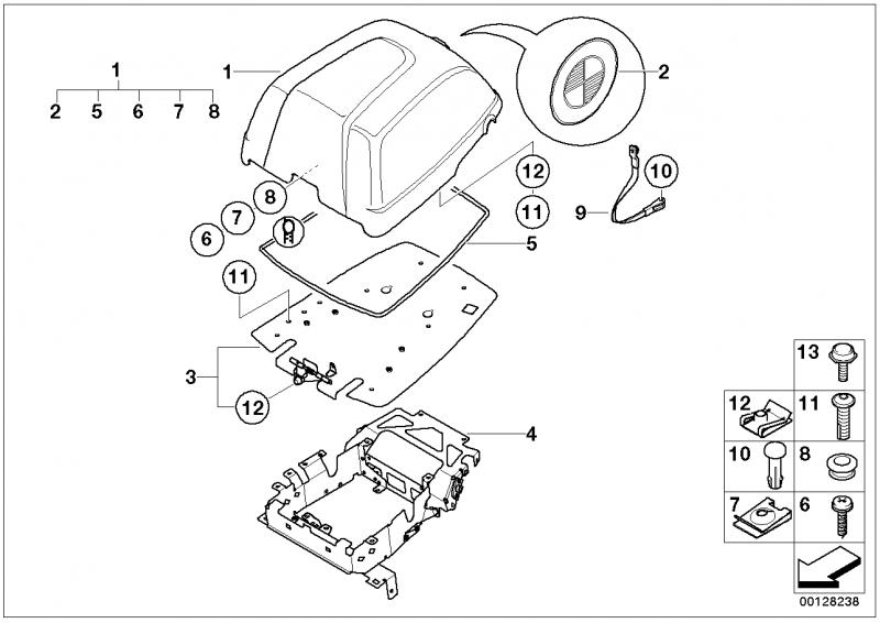 46542316434 druckknopf innenteil bmw motorrad ersatzteil. Black Bedroom Furniture Sets. Home Design Ideas