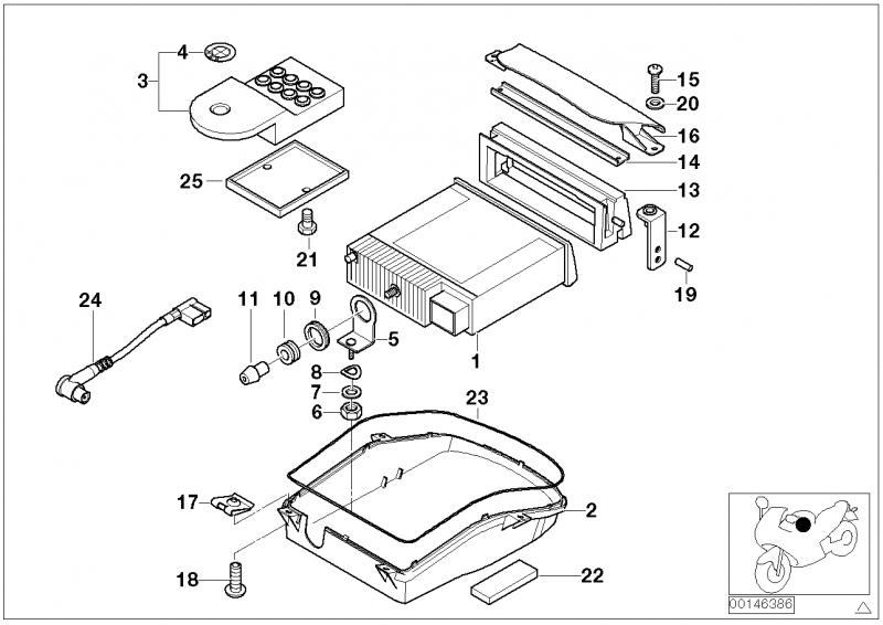 65127708051 cd radio bmw motorrad online g nstig kaufen. Black Bedroom Furniture Sets. Home Design Ideas