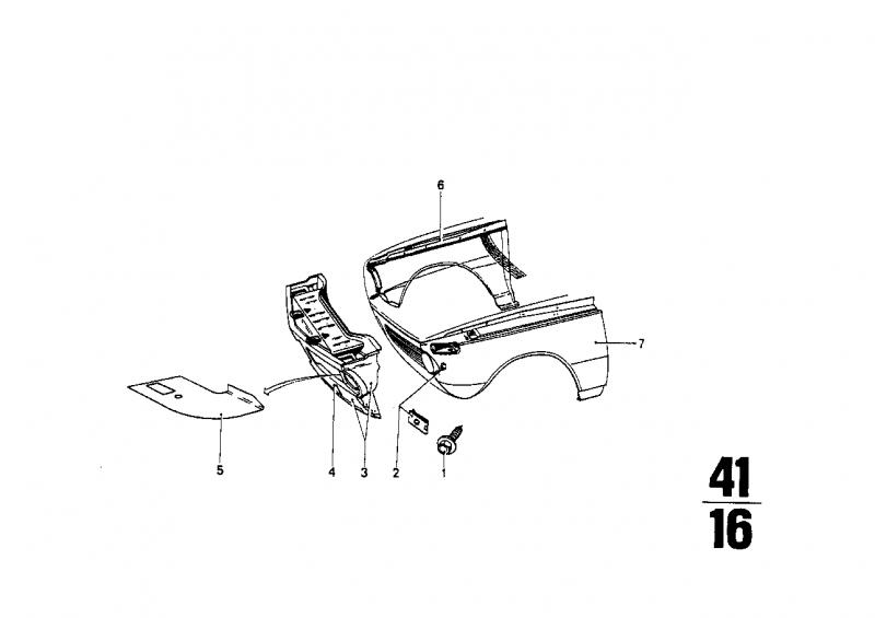 41331828984 frontverkleidung bmw motorrad ersatzteil online. Black Bedroom Furniture Sets. Home Design Ideas