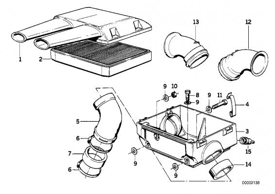 13721337675 luftfiltergehaeuse oben bmw motorrad. Black Bedroom Furniture Sets. Home Design Ideas