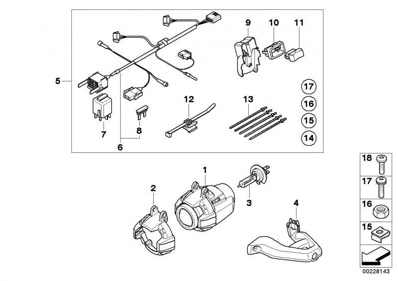 63127653586 haltering bmw motorrad ersatzteil online. Black Bedroom Furniture Sets. Home Design Ideas
