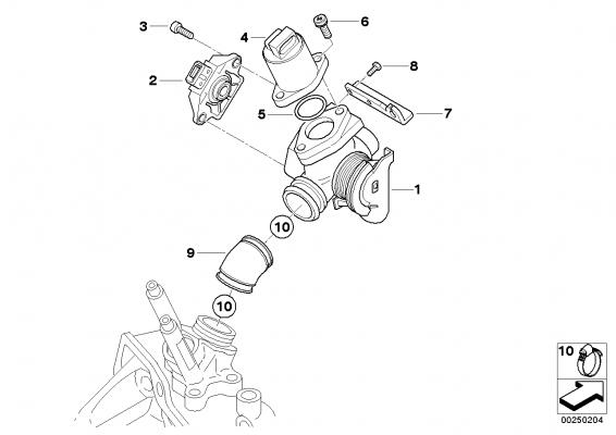 13547654025 leerlaufsteller bmw motorrad ersatzteil online. Black Bedroom Furniture Sets. Home Design Ideas