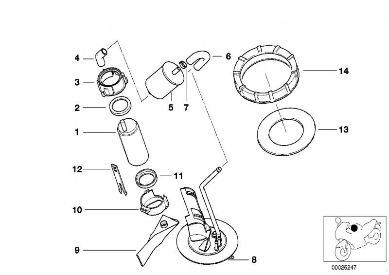 16142347285 dichtung bmw motorrad ersatzteil online. Black Bedroom Furniture Sets. Home Design Ideas