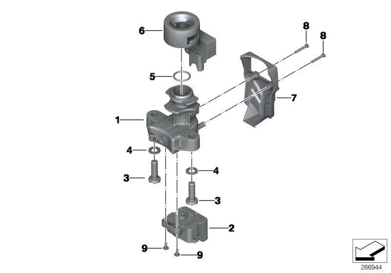 61317681555 zuendschalter bmw motorrad ersatzteil online. Black Bedroom Furniture Sets. Home Design Ideas