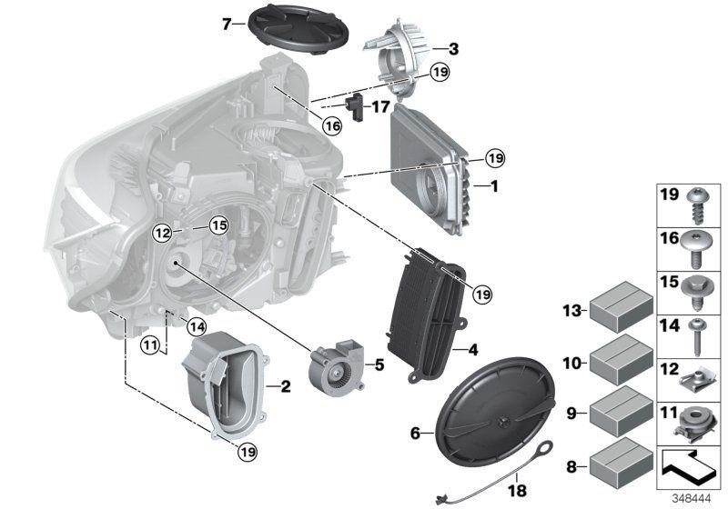 63117379840 blinkleuchte led rechts bmw motorrad online. Black Bedroom Furniture Sets. Home Design Ideas