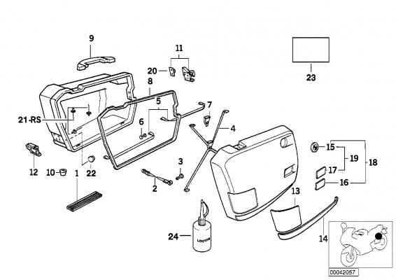 46542315753 gummiband bmw motorrad online g nstig kaufen. Black Bedroom Furniture Sets. Home Design Ideas
