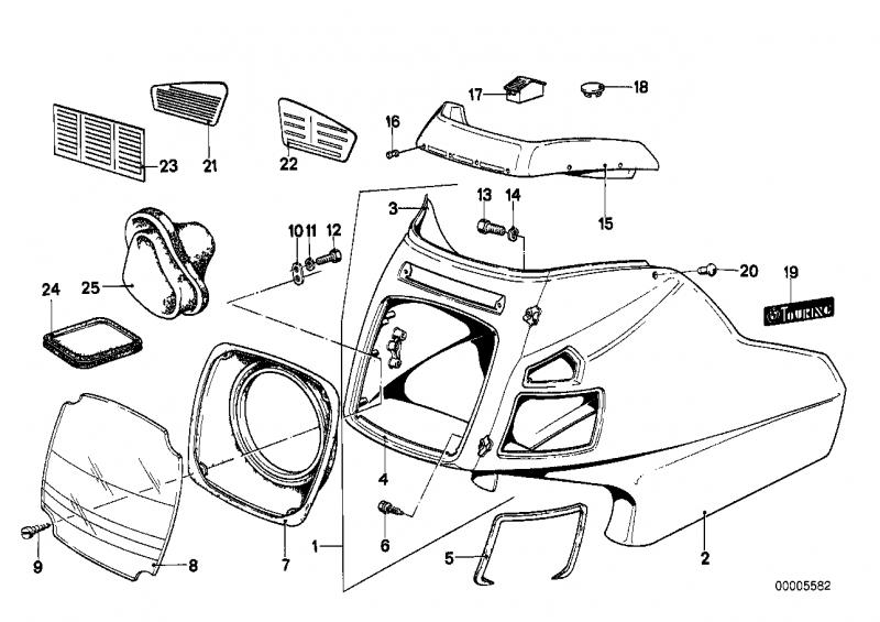 46631239109 lichtschacht bmw motorrad ersatzteil online. Black Bedroom Furniture Sets. Home Design Ideas