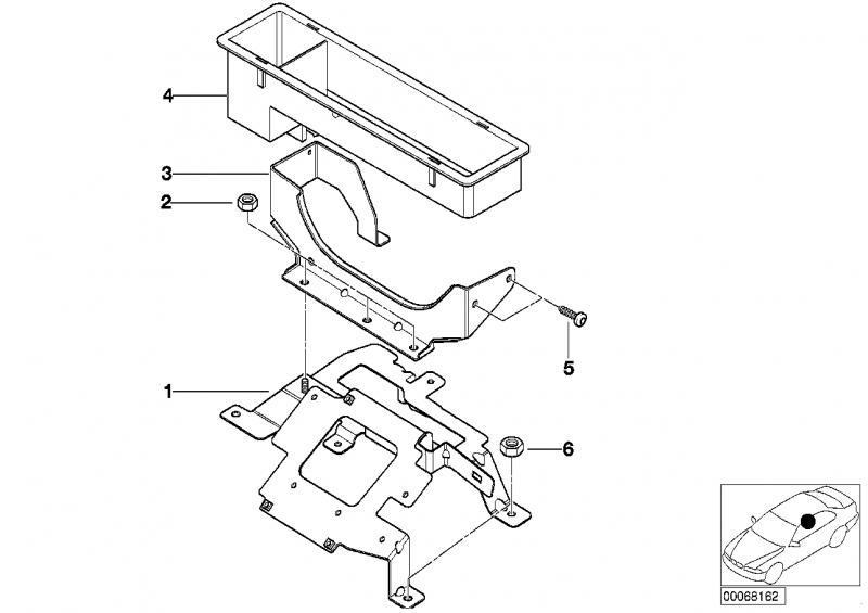 65128372311 abdeckblende bmw motorrad online g nstig kaufen. Black Bedroom Furniture Sets. Home Design Ideas