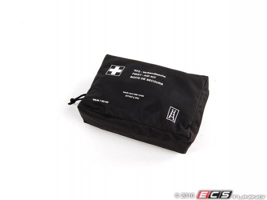 erste hilfe set tasche schwarz 71107263439 bmw ersatzteil. Black Bedroom Furniture Sets. Home Design Ideas