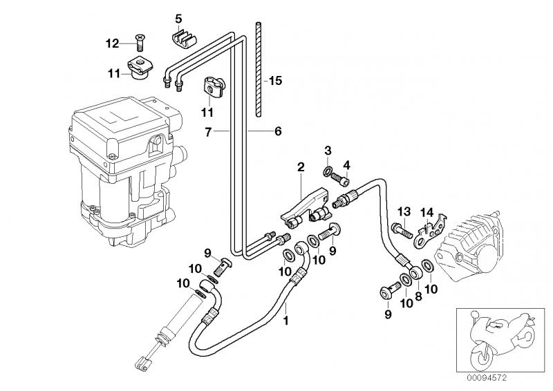 34322332449 bremsschlauch bmw motorrad ersatzteil online. Black Bedroom Furniture Sets. Home Design Ideas