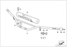 High Handlebar F Heater Handle