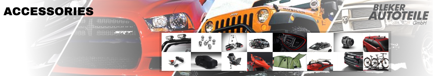 Chrysler, Jeep and Dodge Genuine Accessories