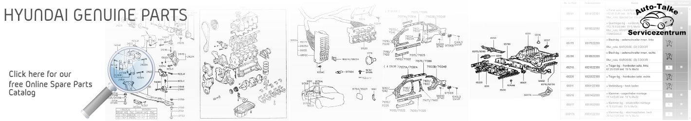 Hyundai free Genuine Spare Parts Catalog