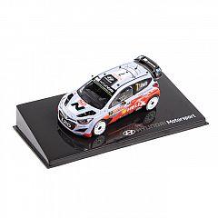 HMD00316 Hyundai Modellauto i20 WRC 1:38