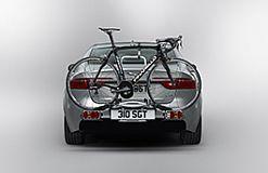 C2Z22695 Fahrradträger für Anhängerkupplung - 2 Fahrräder Jaguar XE, XF, F-Pace