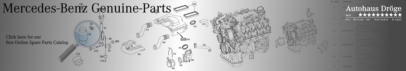 Mercedes Genuine Spare Parts Catalog