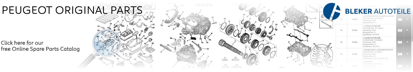 Peugeot free Genuine Spare Parts Catalog