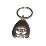 M19563 Schlüsselanhänger mit Einkaufschip