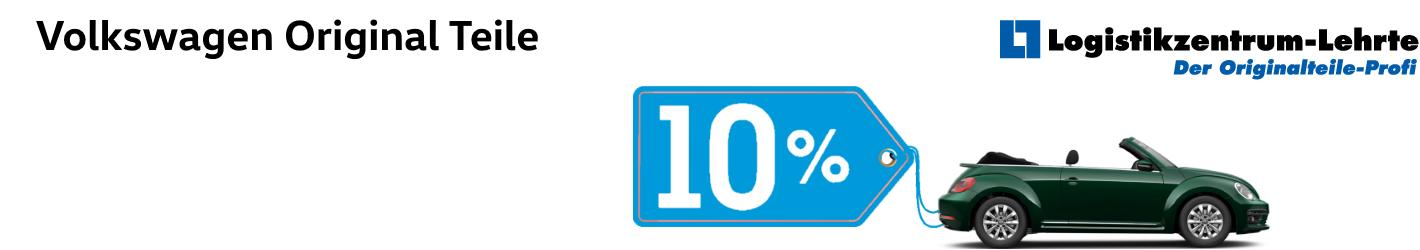 Volkswagen 10% Rabatt