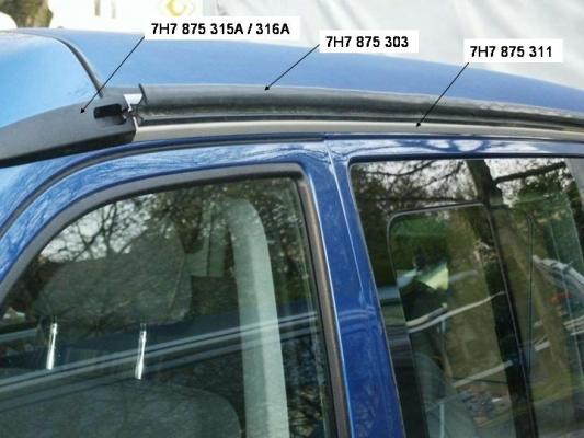 7h7875303 leiste volkswagen online g nstig kaufen. Black Bedroom Furniture Sets. Home Design Ideas