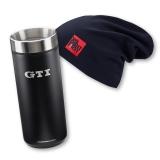 5GB084303  041 SET: GTI Beanie & GTI Thermobecher