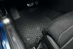 3G1061550  041 Original VW Passat B8 Gummi Fußmatten vorn hinten